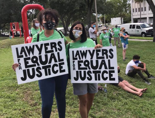 Lawyers for Equal Justice Rally