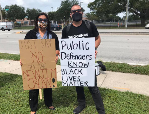 Black Lives Matter to Public Defenders