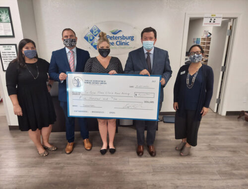 PACDL Donation to the St. Petersburg Free Clinic